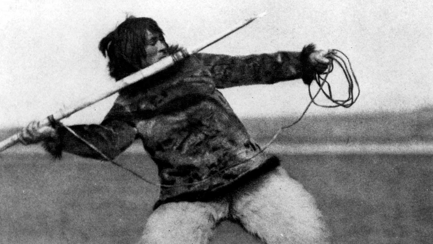 """""""Nanook of the North"""" directed by Robert Flaherty"""