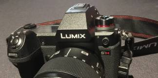 Panasonic's Lumix S1H close shot