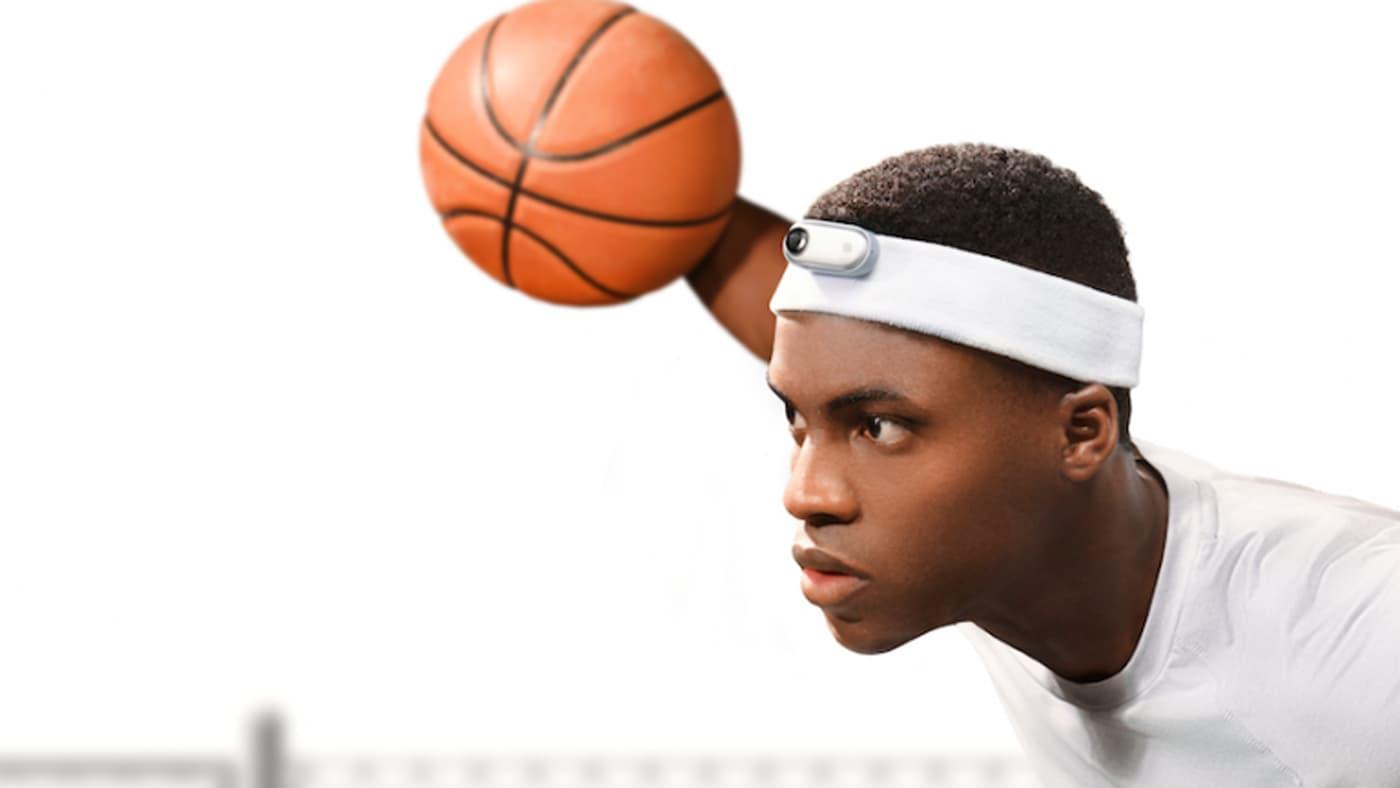 Insta360 Go on a headband