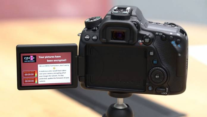 Your camera can get camera ransomware according to researchers