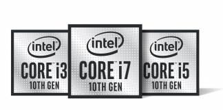 New 10th Gen Intel Core processors