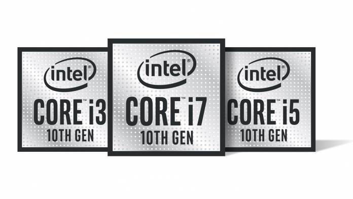 New 10th Gen Intel Core processors