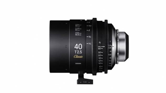 SIGMA announces Full-Frame Classic Art Prime Cine lens line