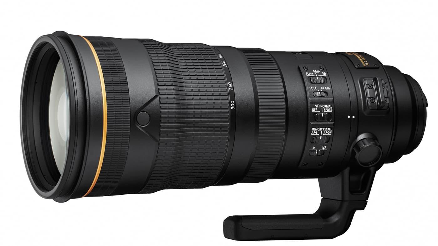 20-300mm f/2.8E FL ED SR VR telephoto zoom lens