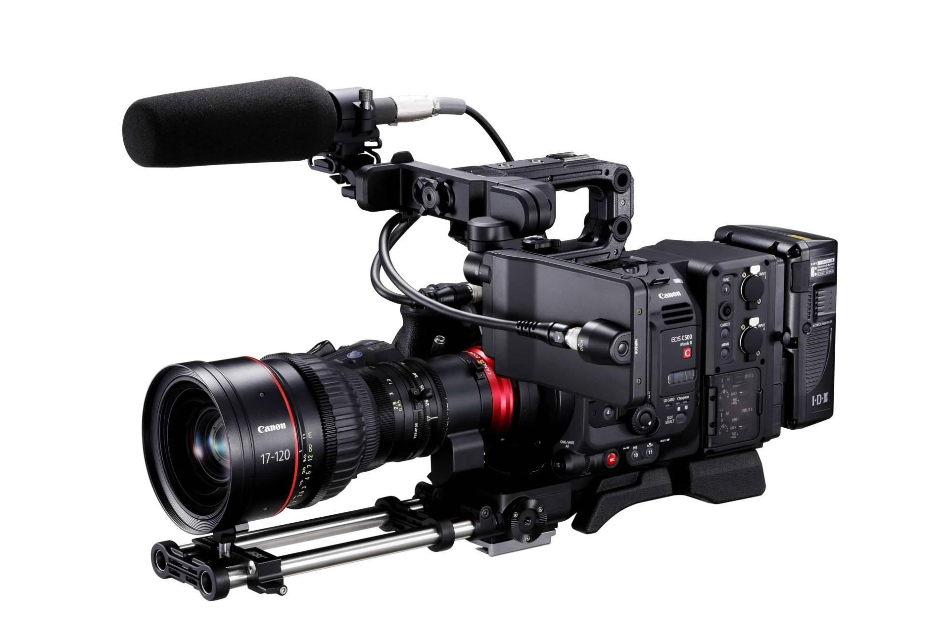 """According to Canon, the EOS C500 Mark II is """"quite modular"""""""