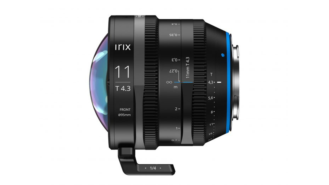 Irix 11mm T3.4 side shot