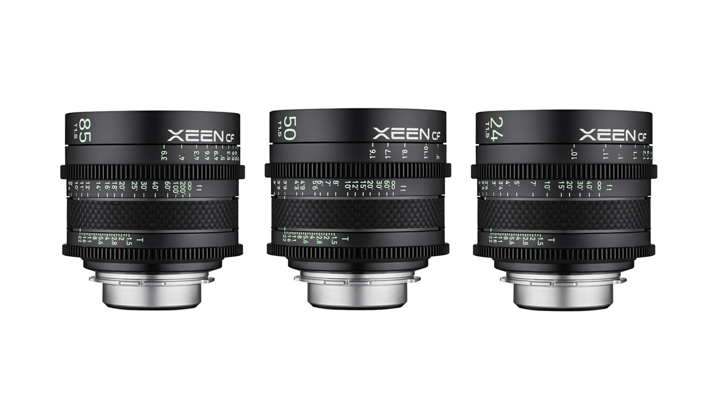 XEEN CF Professional Cine lenses