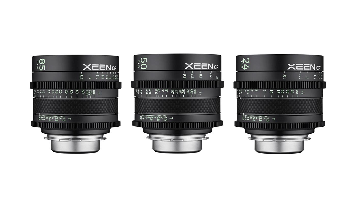 Rokinon reveals XEEN CF Professional Cine lens line