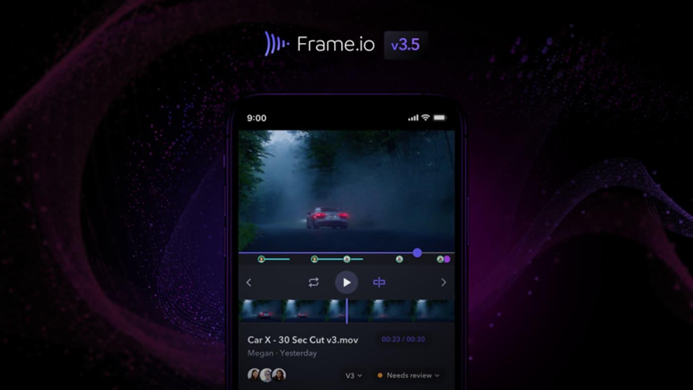 iOS 2.0 Frame.io v3.5