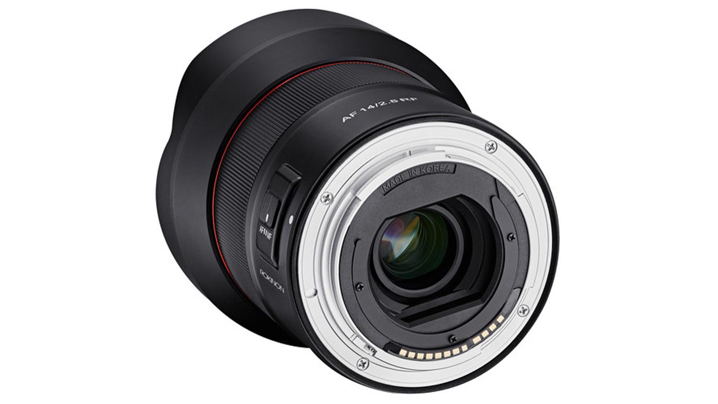 14mm F2.8 Full Frame Ultra-Wide lens