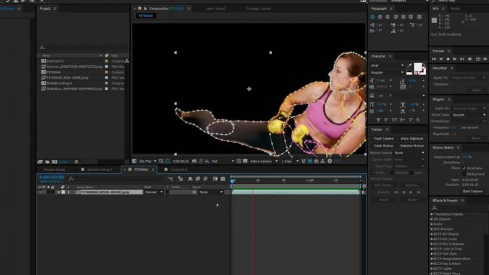 A couple easy ways to make After Effects masks