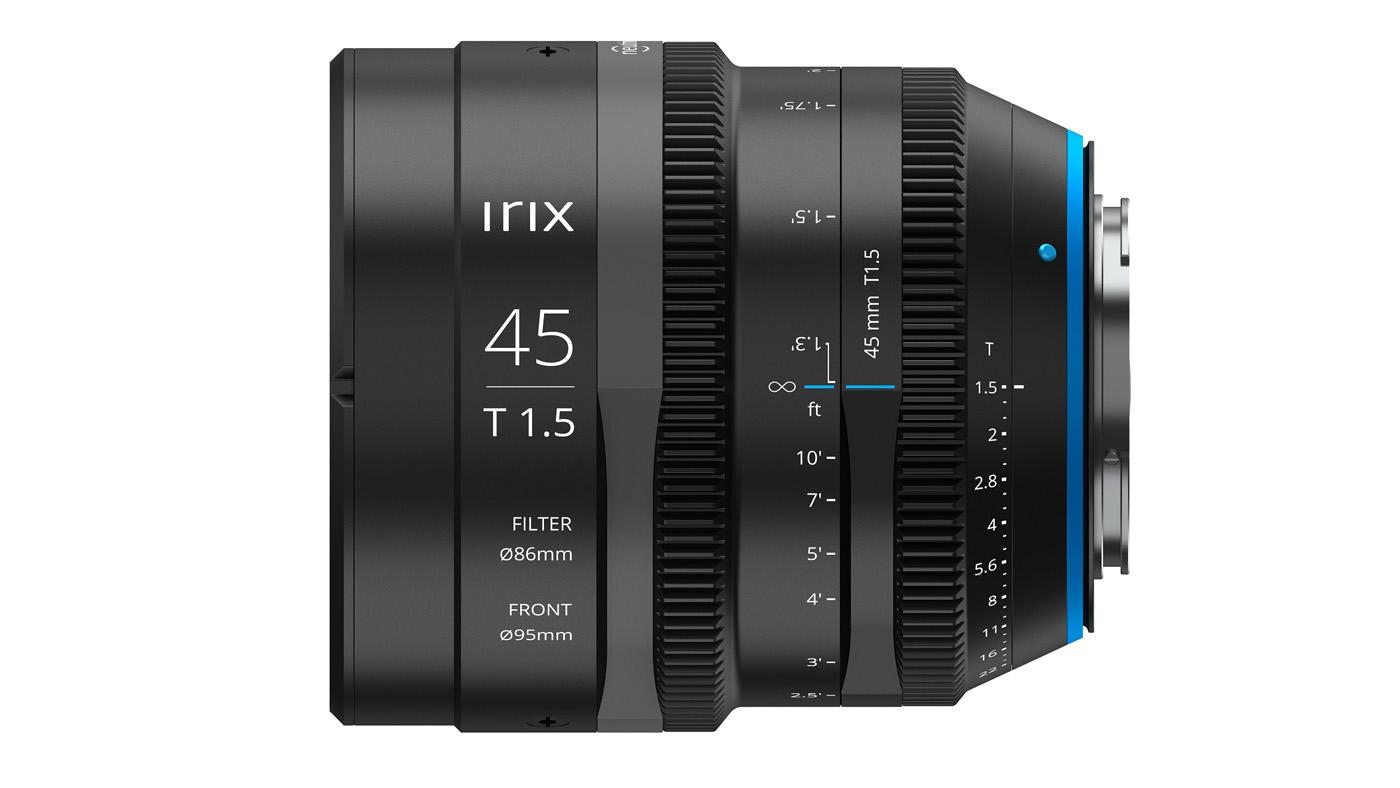 Irix 45mm T1.5 lens