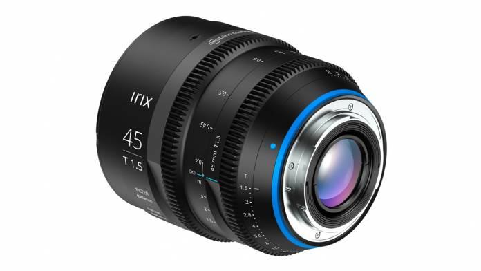 Irix announces the 45mm T1.5 lens