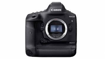Canon has announced the EOS-1D X Mark III