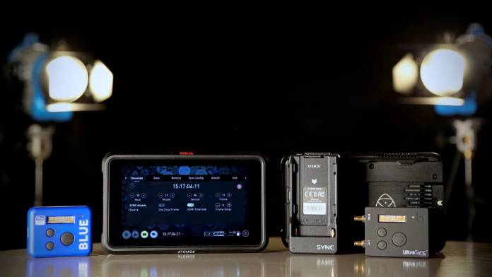 Atomos and Timecode Systems join up