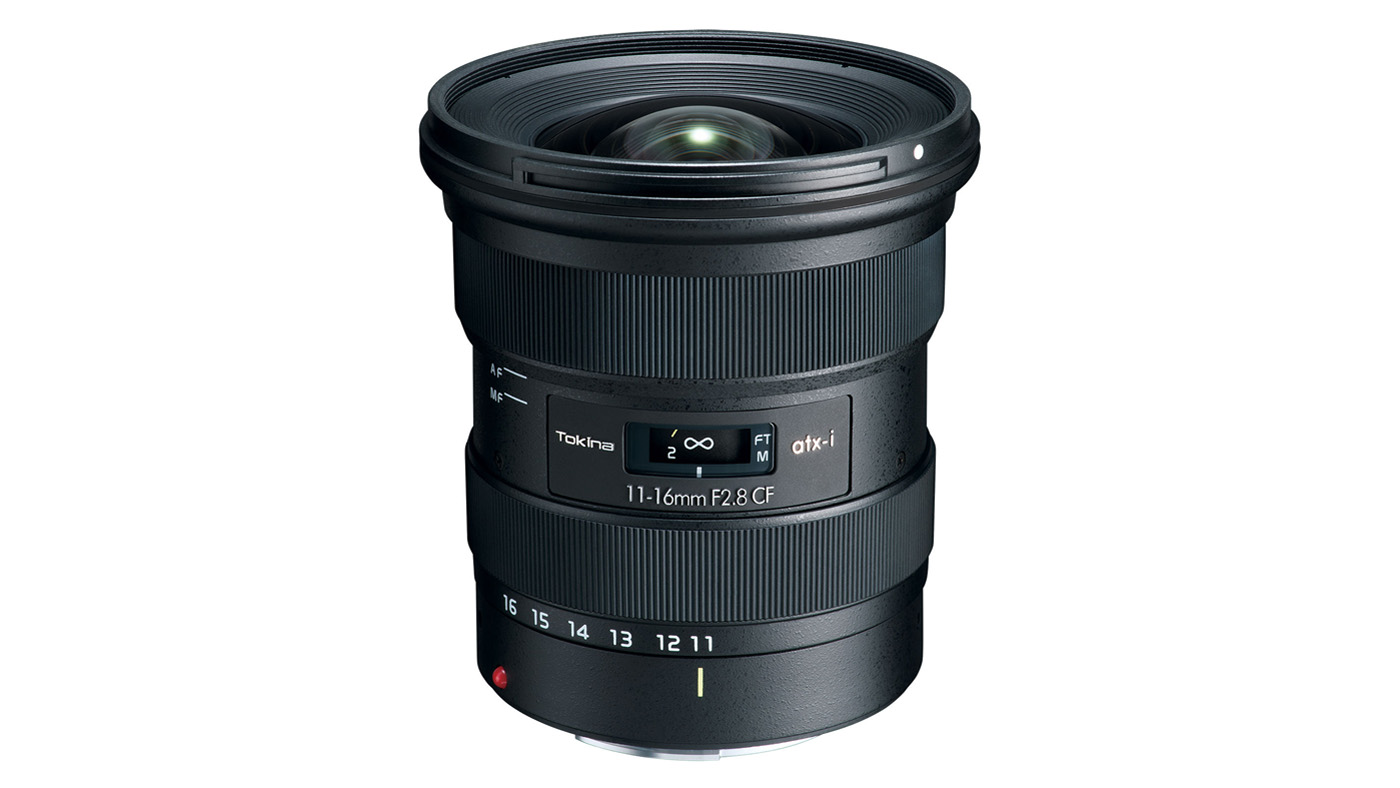 Tokina atx-i 11-16mm f/2.8 CF lens