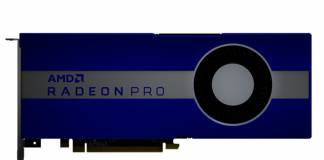 AMD Radeon Pro W5700 is the first 7nm professional PC workstation VR graphics card