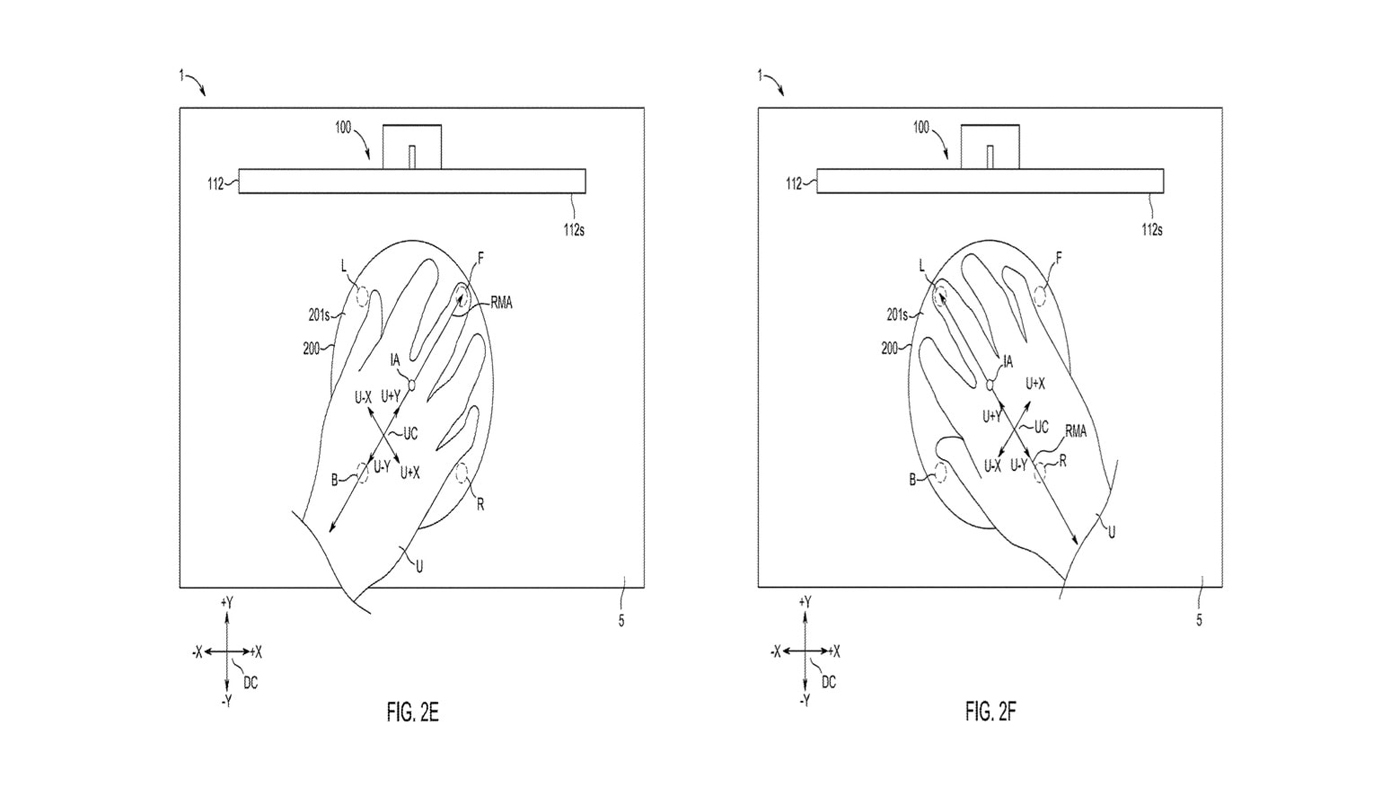 Patent image for the Magic Mouse Pro