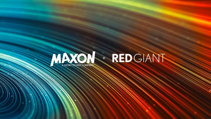 Red Giant and Maxon merger