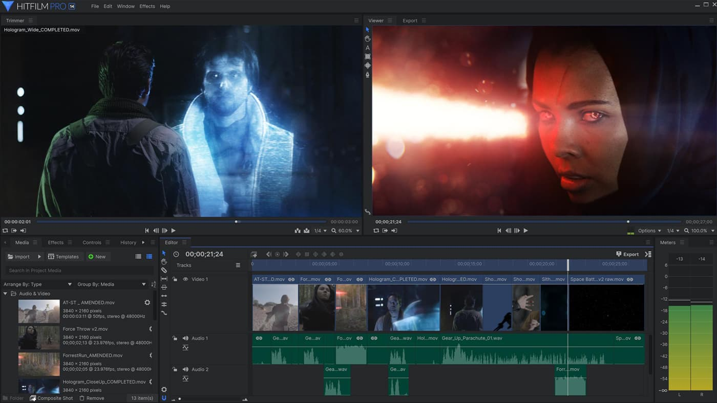 Fxhome HitFilm Pro 14