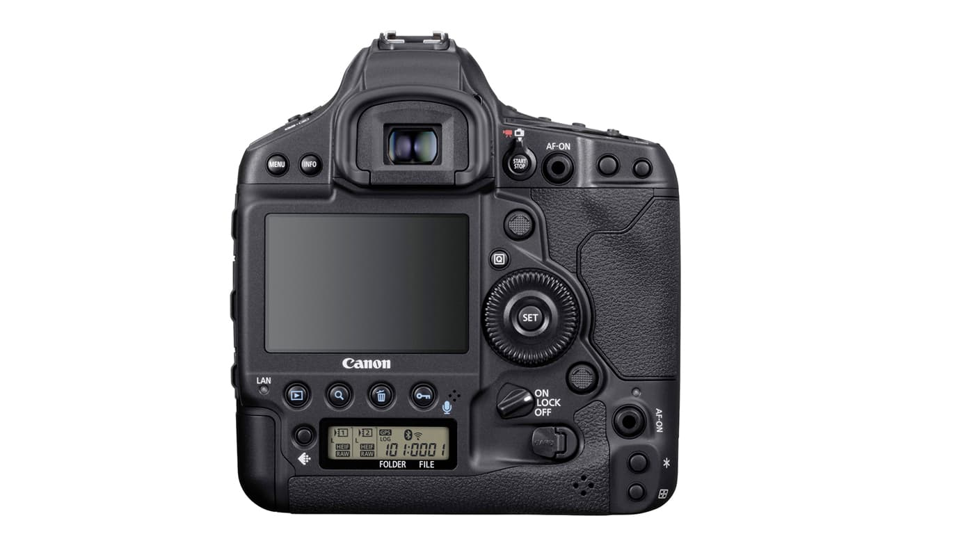 Back of EOS-1D X Mark III