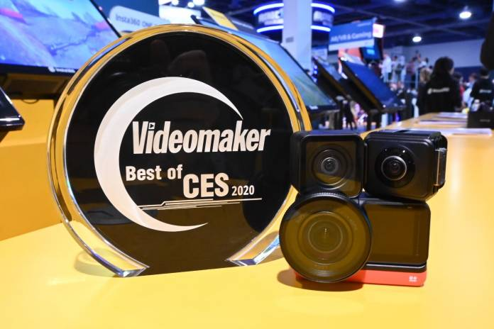 Insta360 One R with award