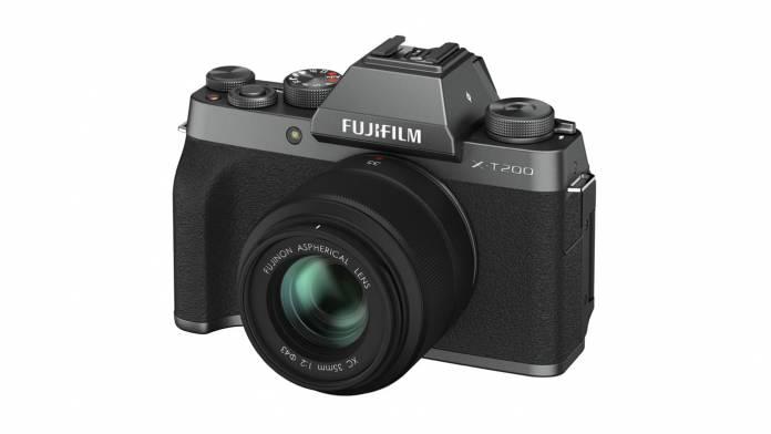 FUJIFILM announces the X-T200