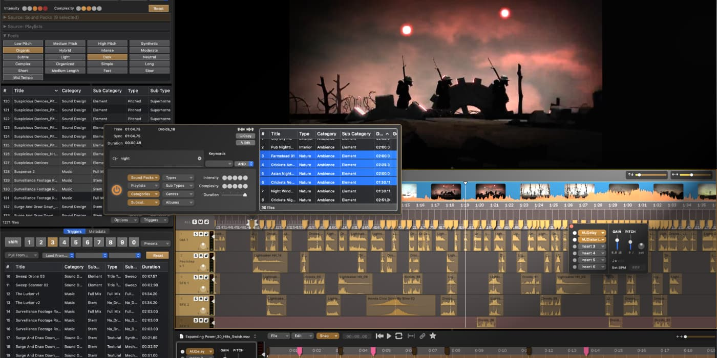 Inside Audio Design Desk