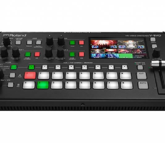 Roland announces the V-8HD HD switcher