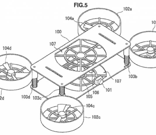 Sony drone patent
