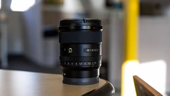 Sony announces FE 20mm F1.8 G