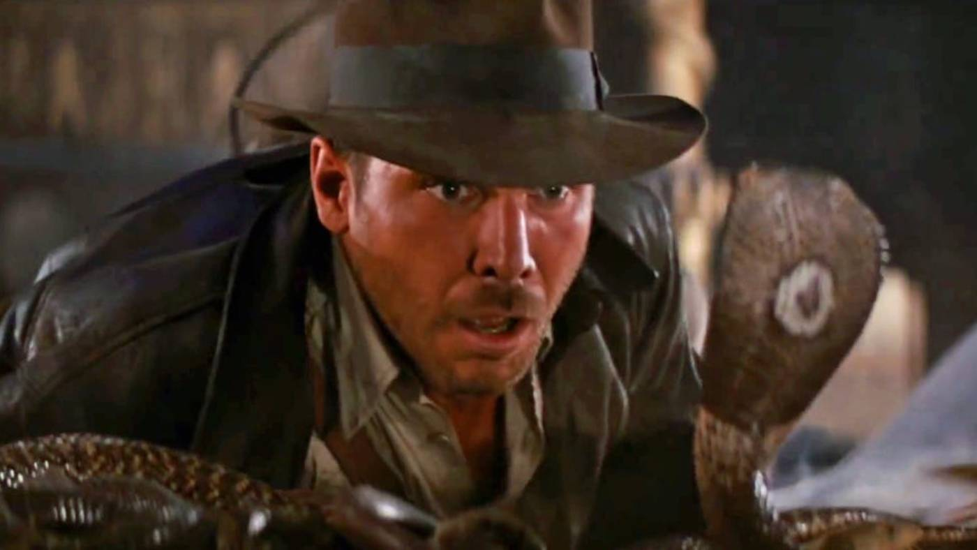 Scene from Indiana Jones: Raiders of the Lost Ark