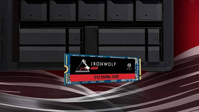 Seagate announces the IronWolf 510 SSD