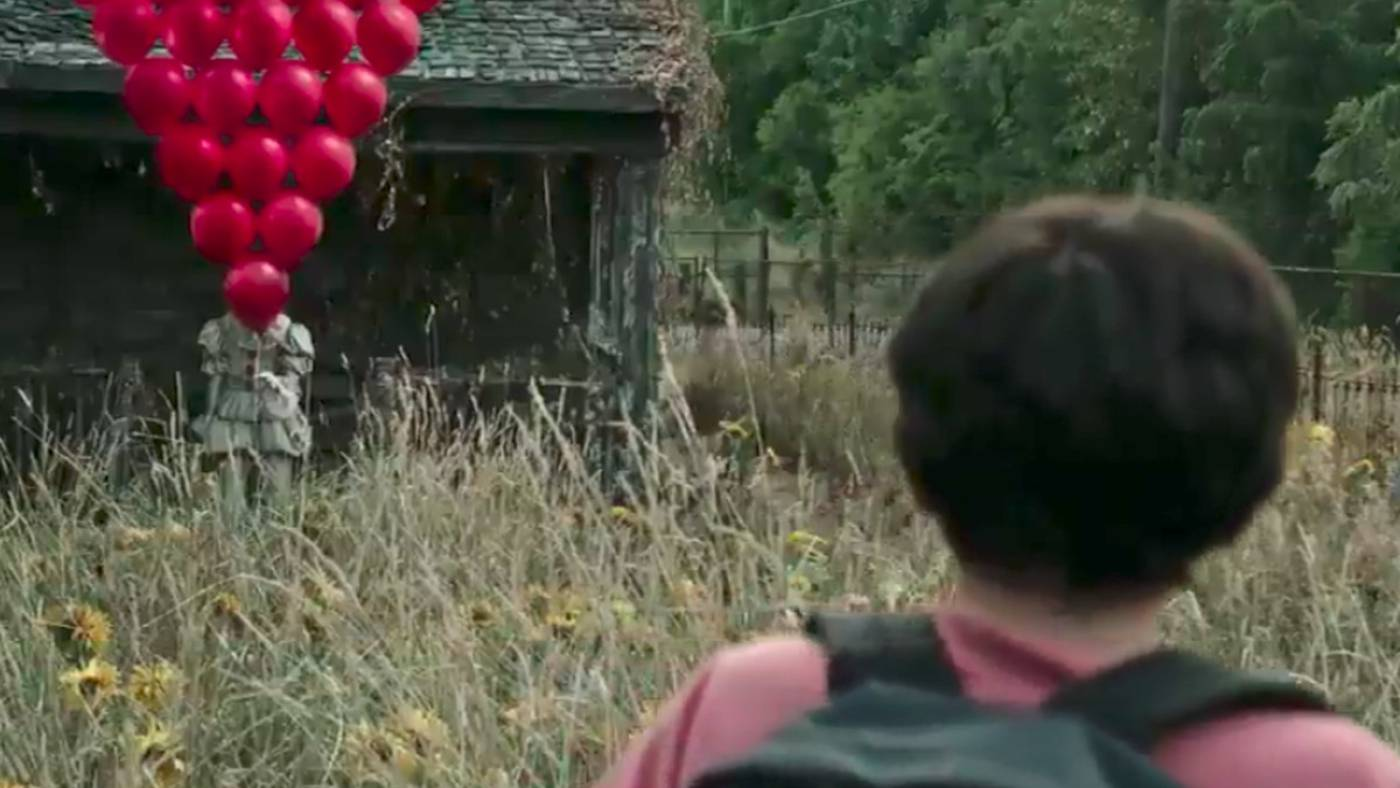 Scene from the movie It
