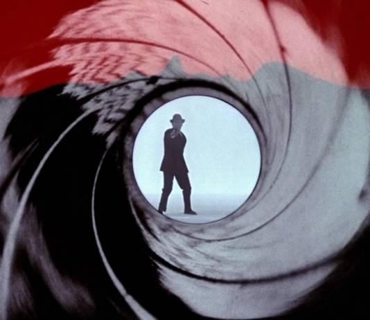 Opening scene from James Bond
