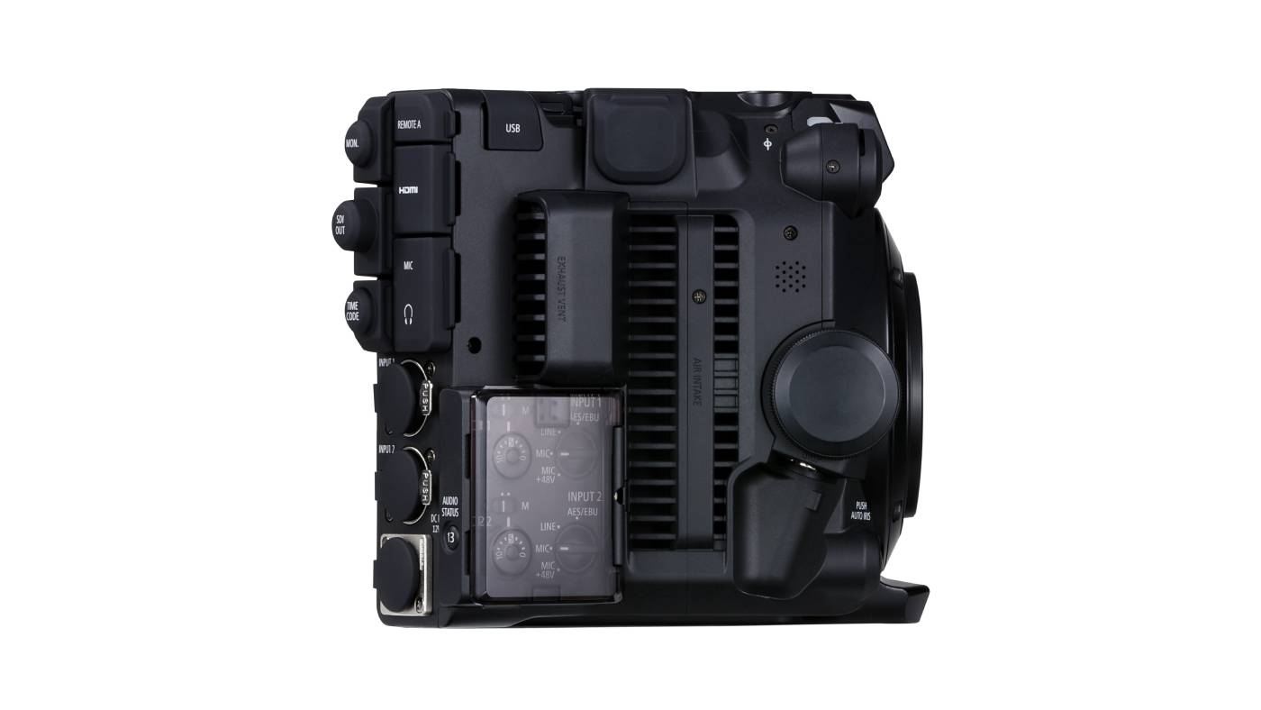 This is a right side view for the C300 Mark III