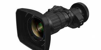 FUJINON HP12X7.6ERD broadcast lens