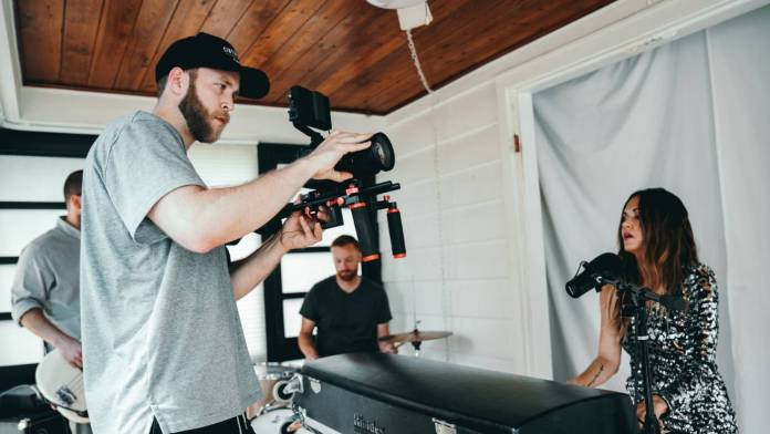 Video production in a small space