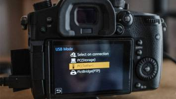 You can now connect many Panasonic cameras through USB