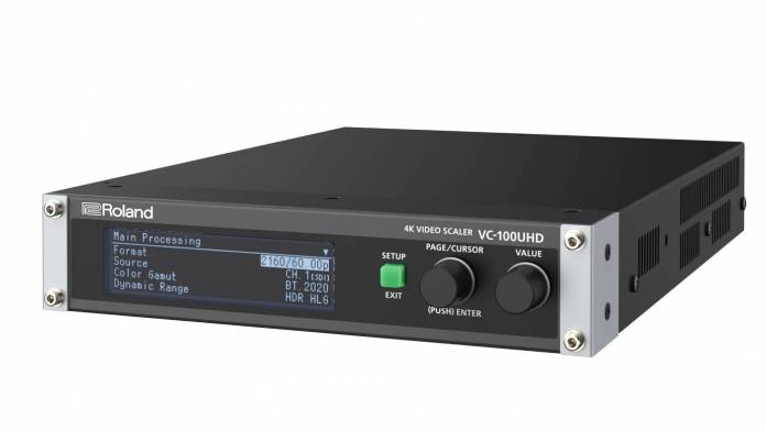 Roland announced the VC-100UHD 4K Video Scaler