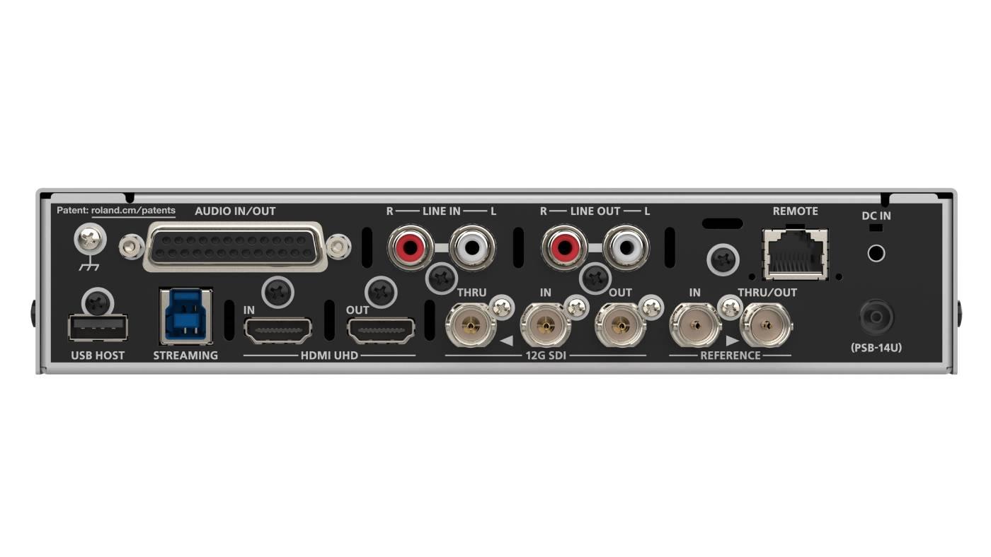 VC-100UHD 4K Video Scaler back
