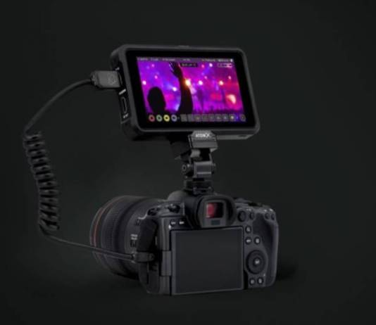 Atomos recorders will record 10-bit 422 ProRes or DNx from the Canon EOS R5 and R6