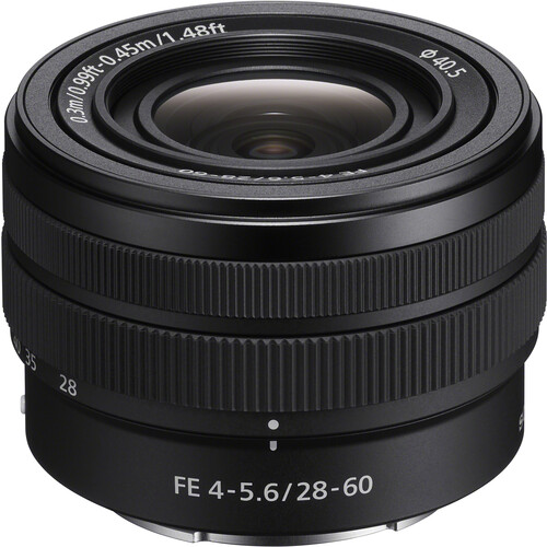 Sony announces the FE 28-60mm F4-5.6