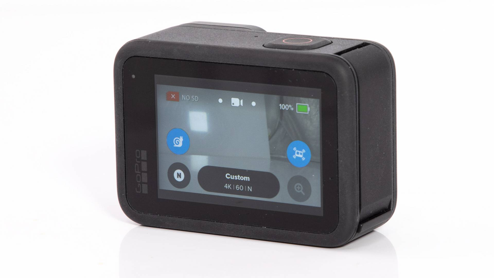 Rear touch-screen on GoPro Hero9