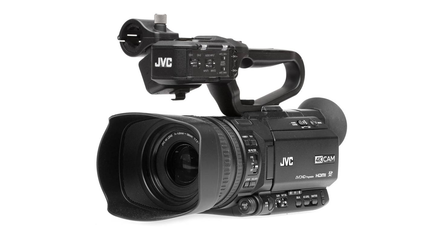 JVC updates GY-HM250 camcorder's live streaming specs