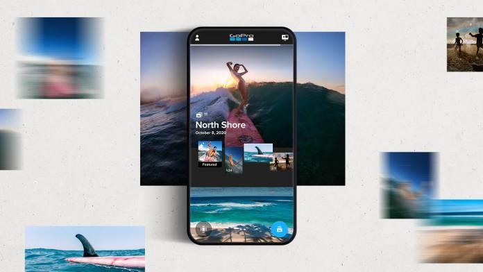 GoPro App Mural feature