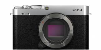 Fujifilm announces the X-E4