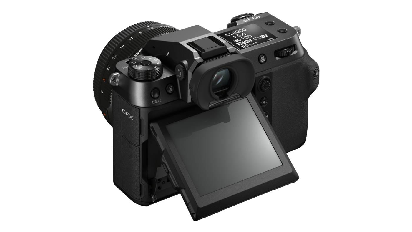 Fujifilm GFX100S back