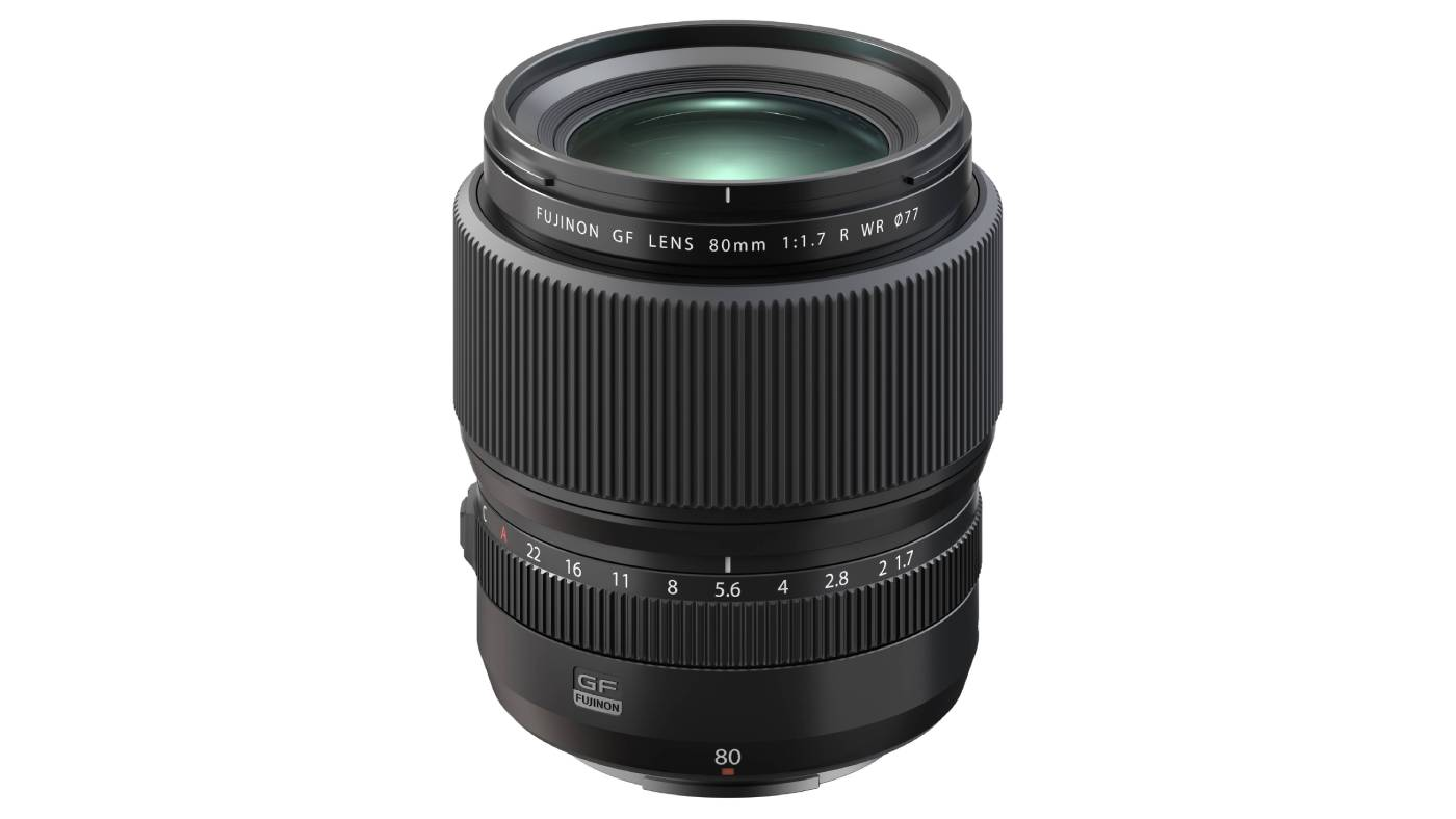Fujifilm announces the GF 80mm f/1.7 R WR Lens