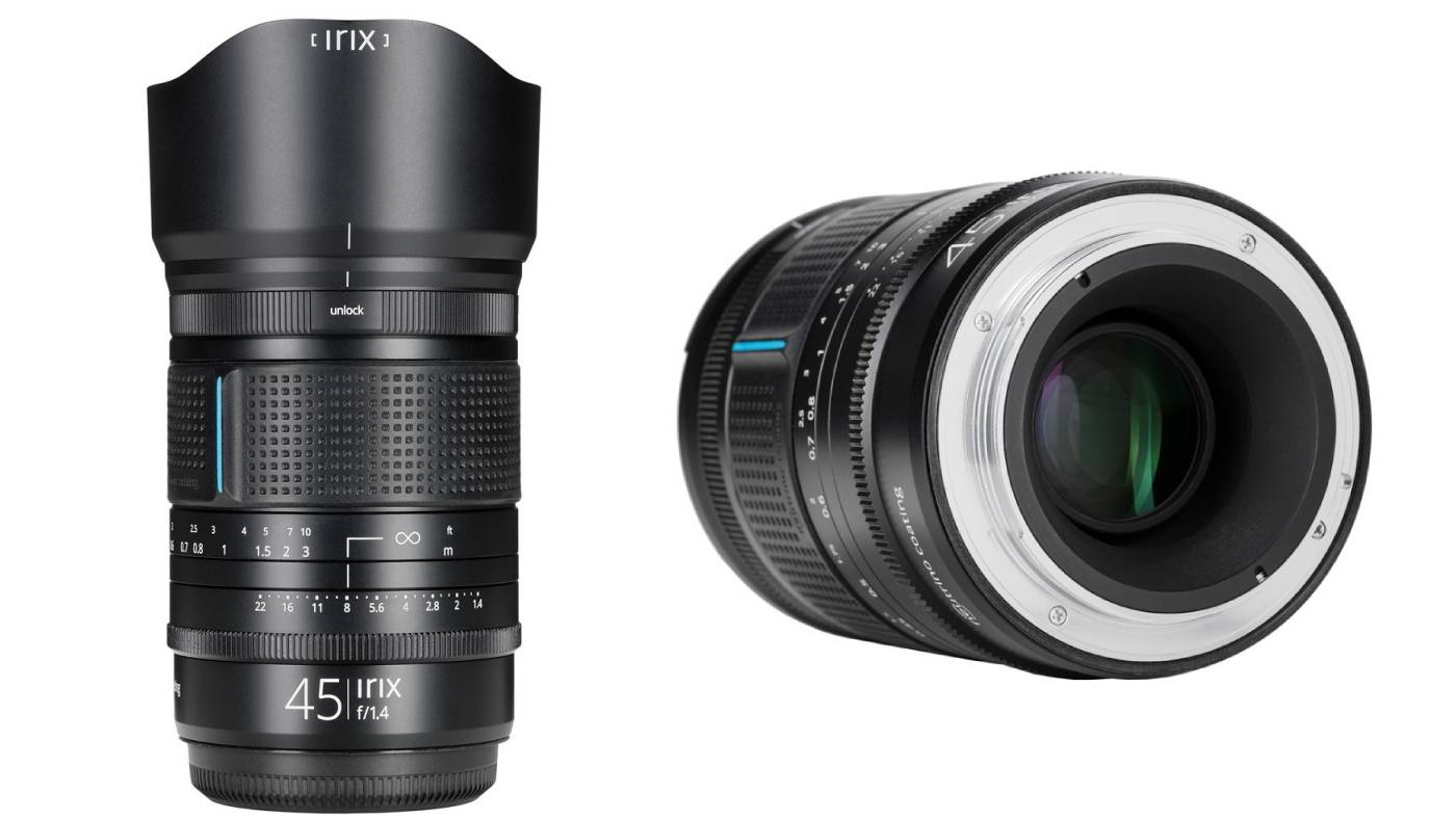 Irix 45mm f/1.4 Dragonfly lens for Fujifilm GFX